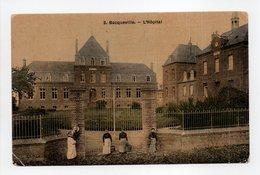 - CPA BACQUEVILLE (76) - L'Hôpital (avec Personnages) - Edition Lemarchand N° 3 - - France