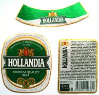 Hollandia Beer Label - Bier