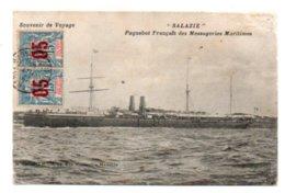 (Paquebot) 071, Salazie, Grimaud, Paquebot Français Des Messageries Maritimes - Dampfer