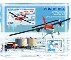 TAAF 2020 - Twin Otter à Concordia ** - Terre Australi E Antartiche Francesi (TAAF)