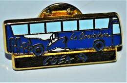 Rare Pin's Arthus Betrand Bus La Croisière CGEA 9 - Arthus Bertrand
