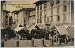 13261 San Giovanni Bianco ( Bergamo ) - Valle Brembana - La Piazza - Bergamo