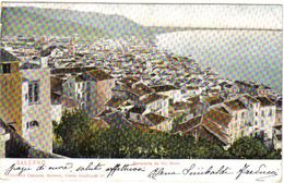 SALERNO PANORAMA DA VIA MONTI VIAGGIATA 1905  COD.C121 - Salerno