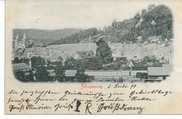 CP. De MALMEDY - TP. Reichpost 5/7/1899 V.AACHEN Voir Verso - Malmedy