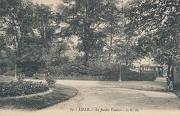 Lille LSH 65 Le Jardin Vauban Beau Plan Rare TBE - Lille