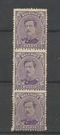 OCB 139 ** Postfris Zonder Scharnier Samenhangend - 1915-1920 Albert I