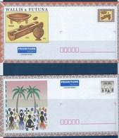 "Wallis Prêt-à-poster YT 198-E1 & 388-E1 "" Art Traditionnel "" 2004 Neuf** - Prêt-à-poster"