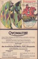 Ovomaltine : Pantin à Découper, Illustration : Alain Saint Ogan - Other