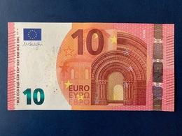 10 EURO FIRMA DRAGHI FA F003I3 FDS - UNC - EURO