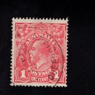 907258564 1914  SCOTT 21 GEBRUIKT USED GEBRAUCHT OBLITERE (O) KING GEORGE V - Used Stamps