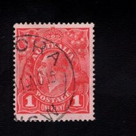 907261474 1914  SCOTT 21 GEBRUIKT USED GEBRAUCHT OBLITERE (O) KING GEORGE V - 1913-36 George V: Heads