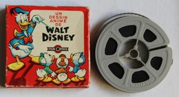 Ancien Film Super 8 Mickey Donald Walt Disney Film Office En Couleurs - Autres Collections