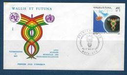 """Wallis FDC YT 265 """" Télécommunications """" Neuf** Enveloppe Du 17.5.1981 - FDC"""