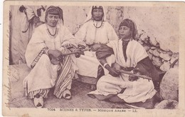 Maroc : RABAT : Musique Arabe : Trois Femmes Jouant De La Musique - Folklore - - Rabat