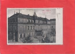 MONTBELIARD . L'HOTEL DE VILLE . DOS NON DIV AFFR AU VERSO LE 17-3-1902 . 2 SCANES - Montbéliard