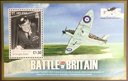 St Helena 2010 Battle Of Britain Aircraft Minisheet MNH - St. Helena