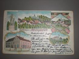 HERZOGENRATH - LITHO MIT GASTWIRTSCHAFT J.NIESSEN 1902 - Herzogenrath