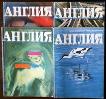 1973 4Magazines ENGLAND - Livres, BD, Revues
