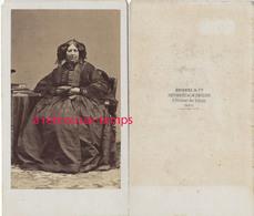 CDV Par Disdéri-mode Second Empire-aristocrate - Anciennes (Av. 1900)