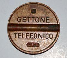 02 - GETTONE TELEFONICO - I.P.M. - 7311 - Profesionales/De Sociedad