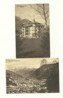 2 AK St. Ulrich Bei Gröden - Hotel - Um 1915 - Non Classés