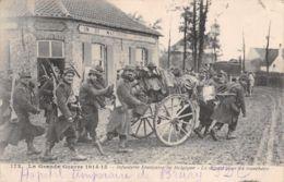 MILITARIA France Belgique CACHET HOPITAL 1915 TRESOR 89  17-0979 - War 1914-18