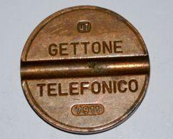 74 - GETTONE TELEFONICO - U.T. - 7911 - Professionali/Di Società