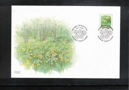Finland 1999 Flowers FDC - Pflanzen Und Botanik