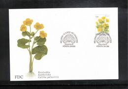 Finland 2000 Flowers FDC - Pflanzen Und Botanik
