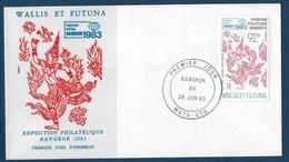 "Wallis FDC YT 304 "" Philatélie "" Enveloppe Du 28.6.1983 - FDC"
