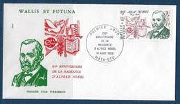"""Wallis FDC Aerien YT 128 (PA) """" Personnalités """" Enveloppe Du 1.8.1983 - FDC"""
