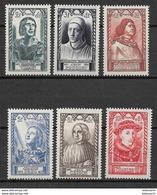 France 1946 Mi Nr. 765-770 MNH - Nuovi