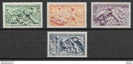 France 1949 Mi Nr. 877-880 MNH - Nuovi