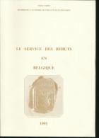 B5/176A  -- LIVRE Le Service Des Rebuts En Belgique, Par Emile Thiry , 1991 , 153 Pg -- ETAT NEUF - Philatelie Und Postgeschichte