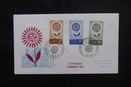CHYPRE - Enveloppe FDC En 1964- Europa - L 49942 - Cartas