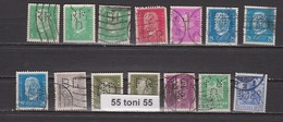 Lot  PERFIN - USED  DEUTSCHEN REICH  - 14 Stamps Different - Sammlungen (ohne Album)