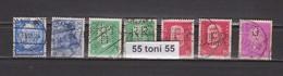 Lot  PERFIN - USED  DEUTSCHEN REICH  - 7 Stamps Different - Sammlungen (ohne Album)