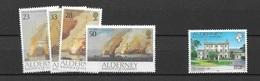 1992 MNH Alderney  Year Complete, Postfris - Alderney