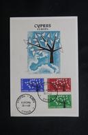 CHYPRE - Carte FDC En 1963 - Europa - L 49946 - Cartas