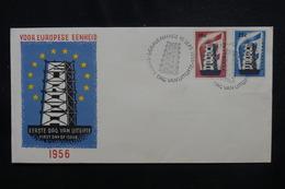 PAYS BAS - Enveloppe FDC En 1956 - Europa - L 49947 - FDC