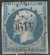 FRANCE - Oblitération Petits Chiffres LP 4196 AIX-LES-BAINS (Savoie) - 1849-1876: Periodo Classico