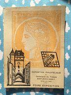 Saint Jean D'angely Charente Maritime Exposition Philatelique Centenaire Du Timbre 25 26 Juin 1949 - Saint-Jean-d'Angely