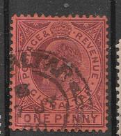 PIA - GIBILTERRA  - 1904-08 : Re Edoardo VII -  (Yv 48) - Gibilterra