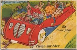 35 LE VIVIER-sur-MER Carte Système Gaby N°105 - Francia