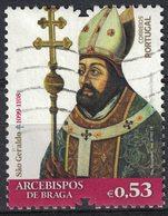 Portugal 2018 Oblitéré Used Archevêques De Braga São Geraldo SU - France