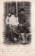 TYPES DE RUSSIE-COUPLE-N°15 - Russia