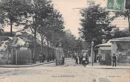 LA PORTE DE MONTROUGE - POSTED IN 1912~ A 108 YEAR OLD  POSTCARD #9R62 - District 14