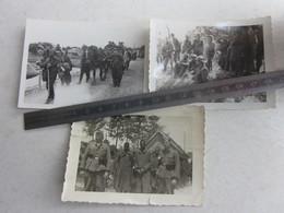 PHOTOS ALLEMANDES - PRISONNIERS DE GUERRE FRANCAIS - TIRAILLEURS SENEGALAIS - MAROCAINS - 1939-45
