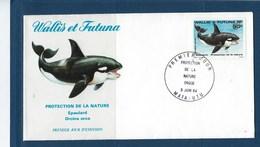 "Wallis FDC YT 320 "" Epaulard "" Enveloppe Du 5.6.1984 - FDC"