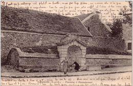 GARGENVILLE  Yvelines - Fontaine A Hanneucourt - 1905 - Gargenville